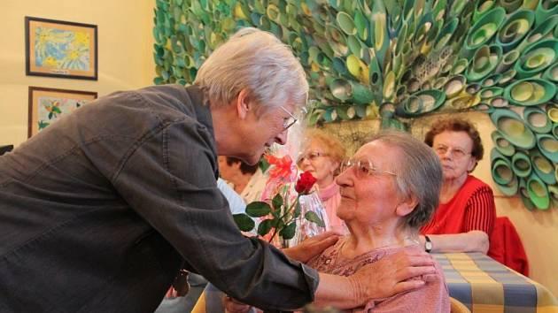 Růžena Lexová z Prachatic oslavuje devadesáté narozeniny.