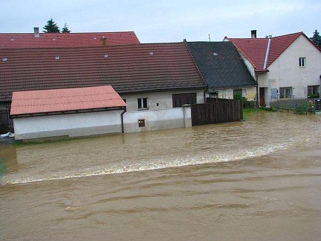Povodně na Prachaticku 2009