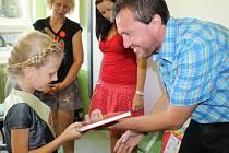 Zahájení nového školního roku v Základní škole ve Ktiši.