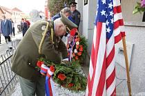 Čkyňští si připomněli osvobození americkou armádou.