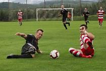 Fotbalová I.B třída: Lhenice - Trhové Sviny B 7:0.