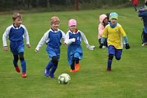 Nejmenší fotbalisté z Prachaticka se sešli výborném turnaji v Husinci.