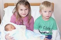 Matěj Chmelan  se narodil v prachatické porodnici ve středu 23. ledna v 09.35 hodin. Vážil 3620 gramů a měřil 50 centimetrů. Rodiče Květa a Jaroslav si prvorozeného syna odvezou domů, do Netolic.