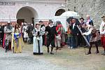 Slavnost, která v neděli 6. června zahájila sezonu na vimperském zámku.