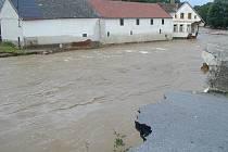 Povodně 2002 - Těšovice