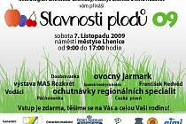 Mikroregion Chelčicko-lhenický pořádá a srdečně zve na tradiční Slavnosti plodů 2009.