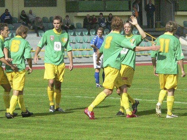 V Třeboni dal tatran tři góly, ale neveze ani bod.