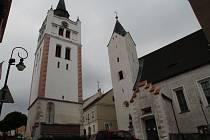Městská zvonice ve Vimperku, ilustrační foto