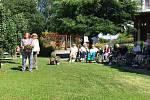 Slavnosti Solné stezky v Prachaticích si užívali také senioři z Domova mistra Křišťana.