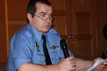 Vrchní strážník MP Vimperk Pavel Dub