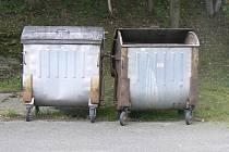 Až do konce týdne probíhá čištění a desinfekce nádob na odpady. Ilustrační foto.