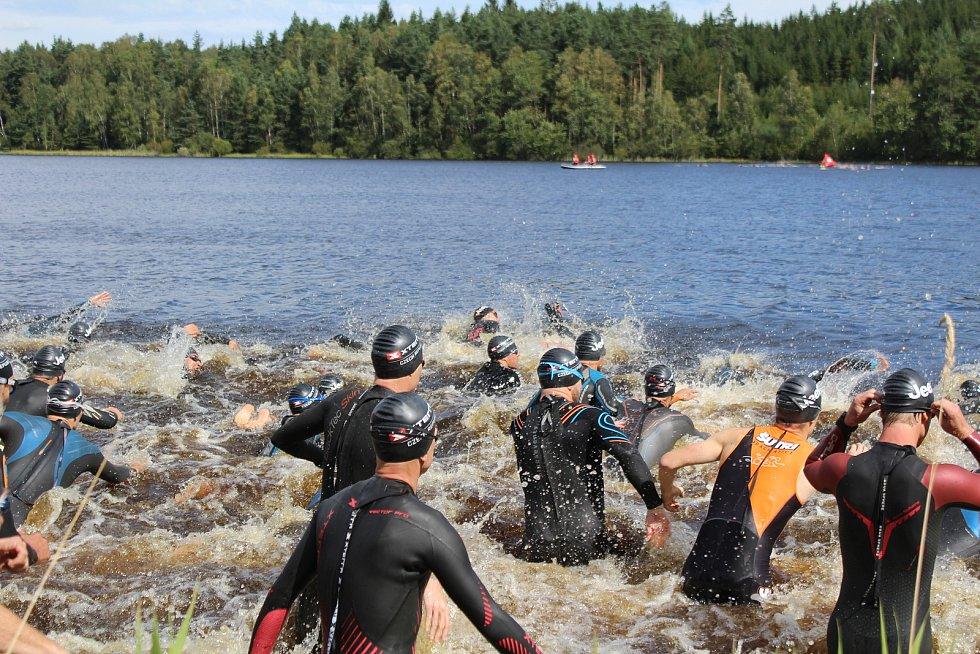 Xterra 2020 - plavecká část.