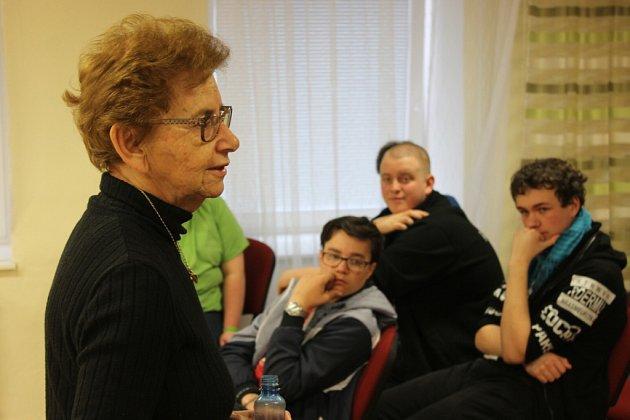 O besedy s pamětnicí holocaustu Dagmar Lieblovou, které připravil prachatický KreBul, byl obrovský zájem.