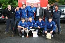 O poslední body v Prachatické hasičské lize se v sobotu při poháru starosty bojovalo v Prachaticích i v kategorii mužů.