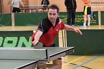 Stolní tenisté pokračovali v mistrovských bojích. Foto: Zdeněk Formánek