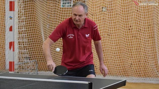 Pokračoval OPII stolních tenistů na Prachaticku. Ilustrační foto.