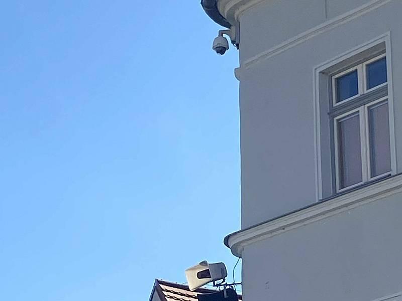 Kamera na Malém náměstí.