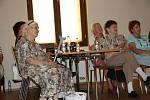 V sále Národního domu v Prachaticích se konaly Seniorské hrátky.