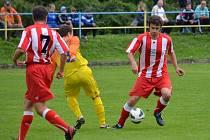 Krajské fotbalové soutěže mají na programu další kolo.