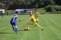 Čkyňské fotbalisty v této sezoně brankově táhne Josef Fiedler.