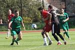 Fotbalová A třída: Netolice - Prachatice B 3:3.