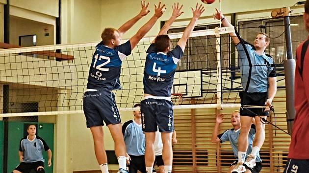 Netoličtí volejbalisté dvakrát porazili Ervěnice.