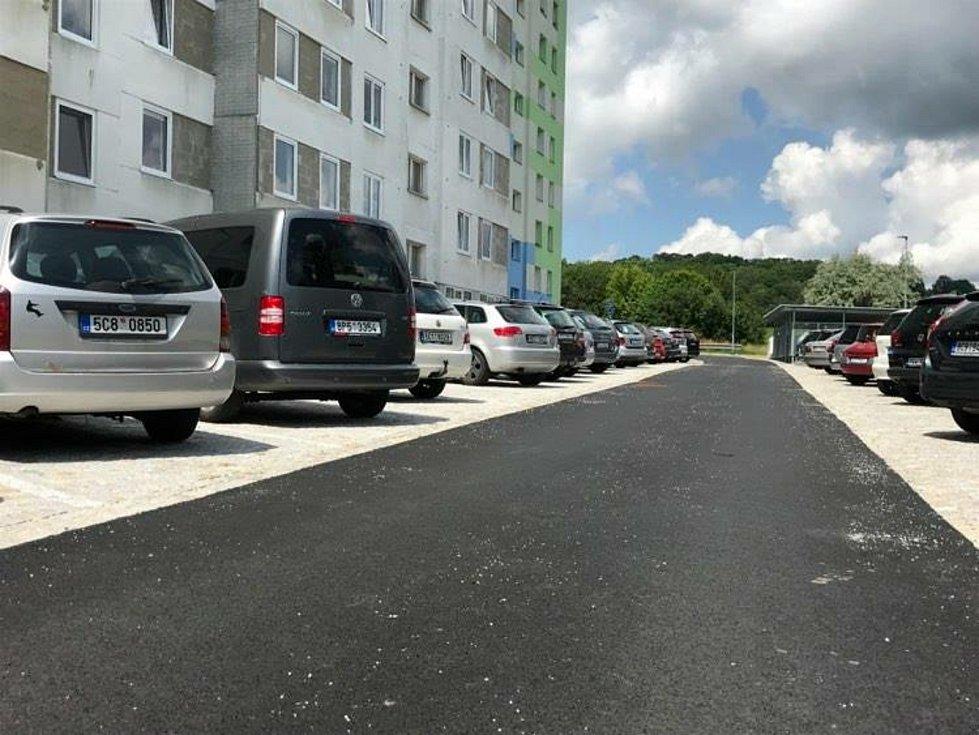 Opravená Luční ulice ve Vimperku.