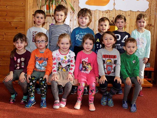 Mateřská škola Prachatice - ulice Na Skalce - 3.třída