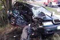 Další vážná dopravní nehoda u Stopařky, opět nedání přednosti v jízdě.