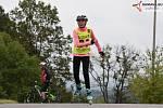 Ve Vimperku se tentokrát jezdilo na bruslích a lyžích.