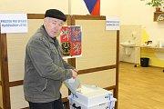 Prezidentské volby v prachatickém okrsku 2.