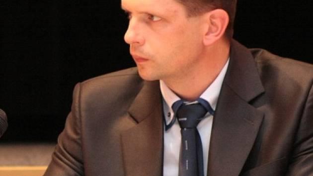 Nový místostarosta Vimperku Jiří Cais (ODS)