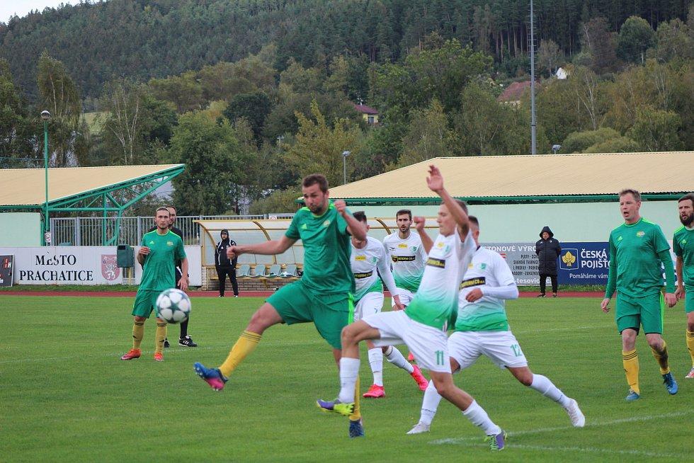Fotbalistům Prachatic podzim nevyšel podle představ.