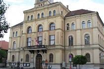 Budova Městského úřadu v Netolicích.