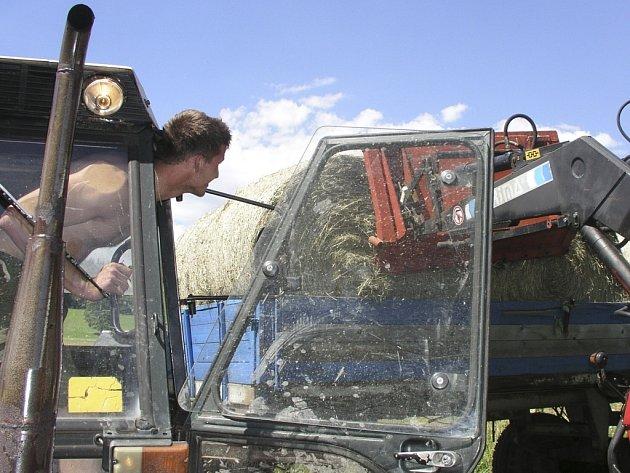 Z besedy se návštěvníci mohou dozvědět o práci farmářů. Ilustrační foto.