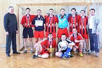 Vítězný tým policistů z Prachaticka.