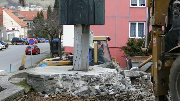 Památník osvobození.