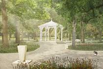 Návrhy, podle kterých byl zpracováván projekt na revitalizaci Štěpánčina parku.
