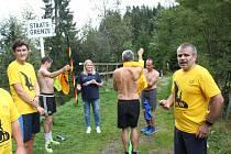 Po trase Zlaté stezky běželi sportovci z Prachatic do Grainetu. Foto: Jana Kocourková