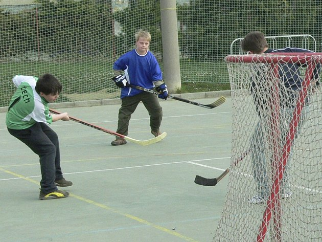 Hokejbalisté budou mít nové hřiště