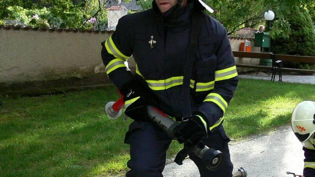 Nádrž by mohli používat předevčím hasiči. Ilustrační foto.