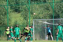 Fotbalový KP: Lažiště - Osek 1:4.