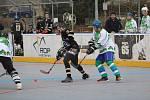 Krajská liga hokejbalu: HBC Prachatice C - Platan Protivín 23:0.