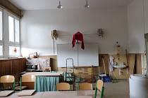 Rekonstrukce ve škole v Horní Vltavici.