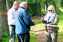 Za příkladnou označují vedení obou Kvild spolupráci se Správou NP a CHKO Šumava při budování nové stezky pro pěší, která spojila dvě šumavské obce.