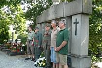 Prachatičtí střelci si připomněli výročí 100 let od vypuknutí První světové války.