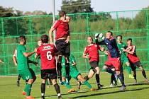 Fotbalový krajský přebor: Lažiště - Sokol Sezimovo Ústí 1:0.
