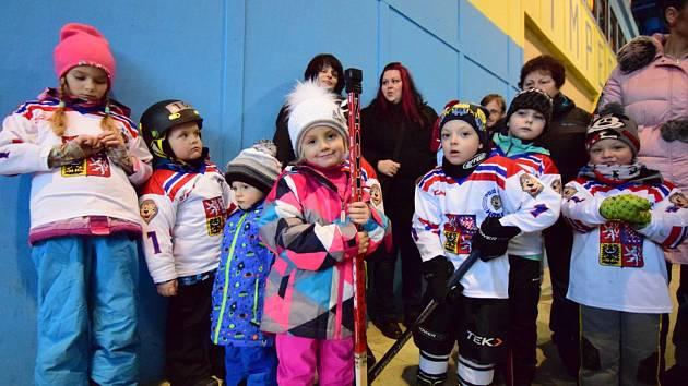 O akci Pojď hrát hokej byl ve Vimperku pokaždé zájem.