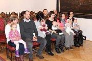 Ve čtvrtek 1. února přivítal starosta Prachatic Martin Malý nové občánky.