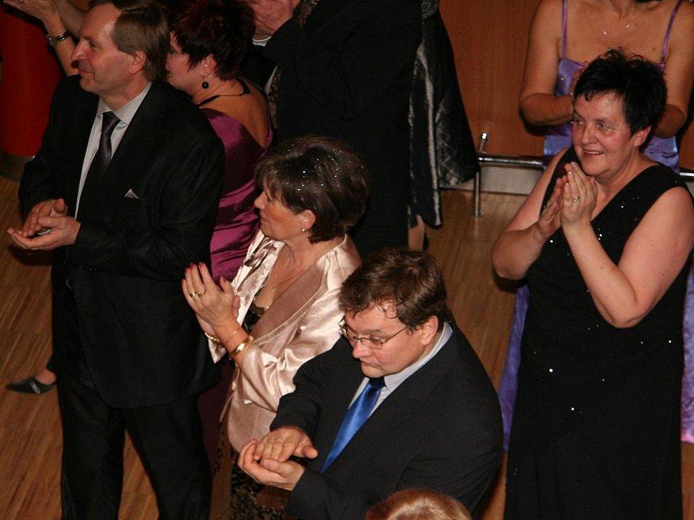 Heidi Janků na Plese podnikatelů v Prachaticích.